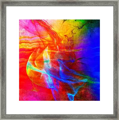 Summer Cocktail Framed Print by Susan  Solak