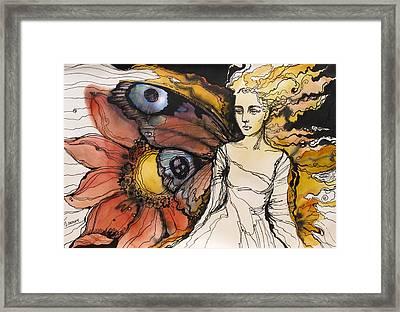 Summer Come To Me Framed Print by Valentina Plishchina