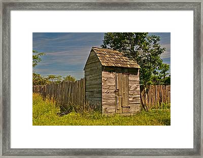 Framed Print featuring the photograph Summer Day On The Farm by Nancy De Flon