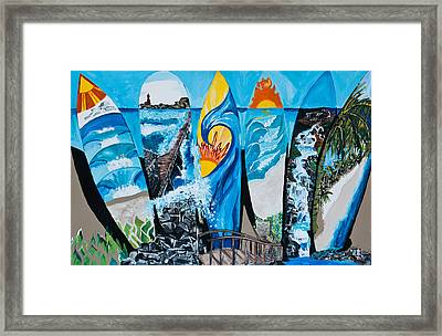 Summer Dayz Framed Print by Michael Henzel
