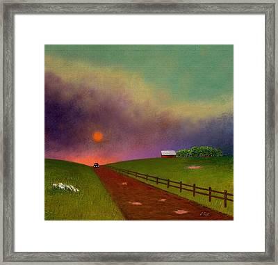 Summer Dustup Framed Print by Gordon Beck