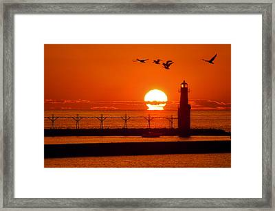Summer Escape Framed Print by Bill Pevlor
