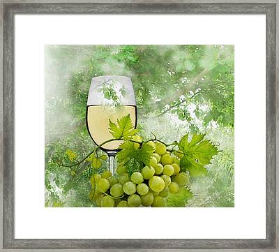 Summer Evening Framed Print by Manfred Lutzius