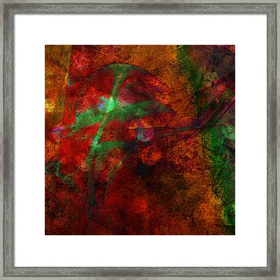 Framed Print featuring the painting Summer Evening Shadows by Susan  Solak