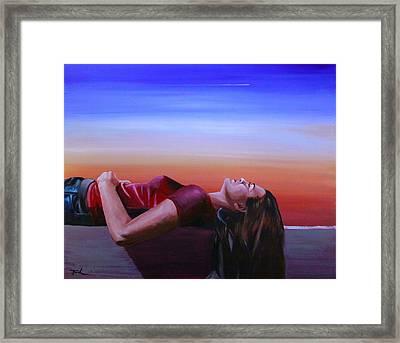 Summer Evenings Framed Print by Jerry Frech