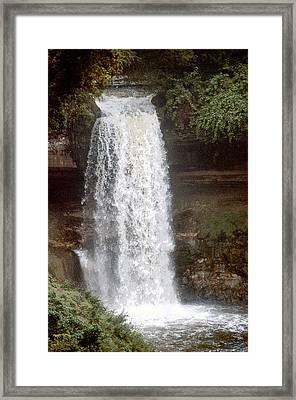 Summer Falls Framed Print
