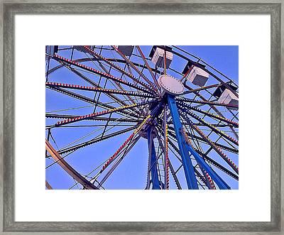 Summer Festival Ferris Wheel Framed Print