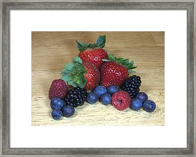 Summer Fruit Framed Print by Michael Waters