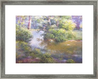 Summer Green Framed Print