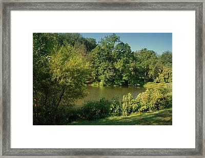 Summer Happiness - Holmdel Park Framed Print by Angie Tirado