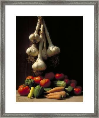 Summer Harvest Framed Print