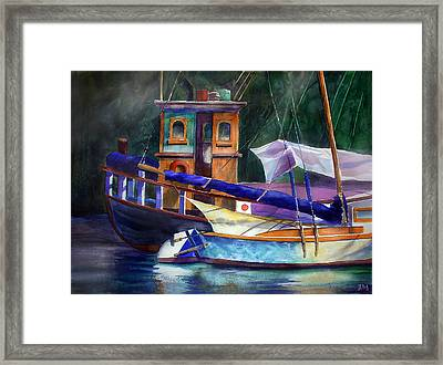 Summer Heat Framed Print