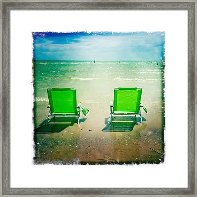 Summer Heaven Framed Print