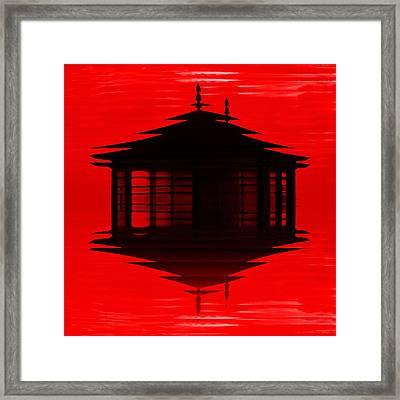 Summer House 2 Framed Print by Sharon Lisa Clarke