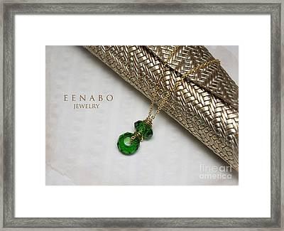 Summer In Green Framed Print by Eena Bo
