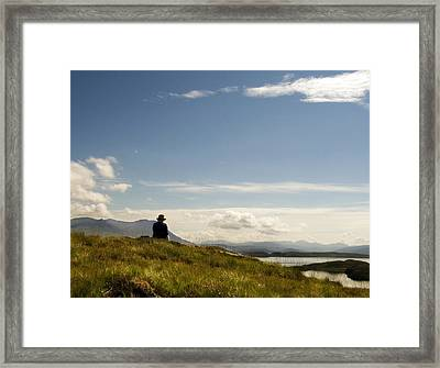 Framed Print featuring the photograph Summer Isles by David Harding