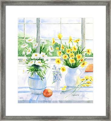 Summer Light Framed Print by Susan Mahoney