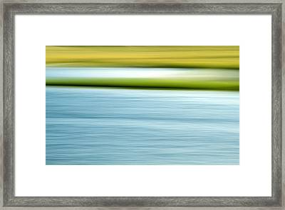 Summer Marsh Framed Print by Doug Hockman Photography