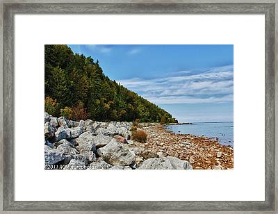 Framed Print featuring the photograph Summer Memories by Rachel Cohen