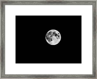 Summer Moon Framed Print by Paul Howarth