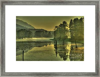 Summer Morning Framed Print by Rod Wiens