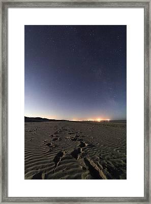 Summer Night Sky Framed Print by Laurent Laveder