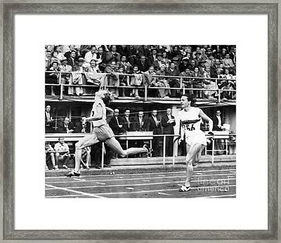 Summer Olympics, 1952 Framed Print by Granger