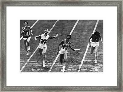 Summer Olympics, 1960 Framed Print by Granger