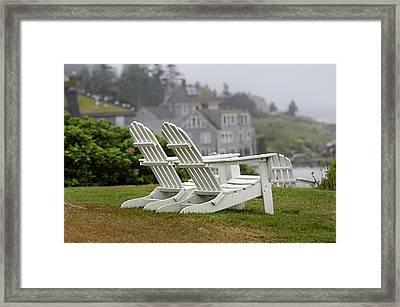 Summer Pastime Framed Print