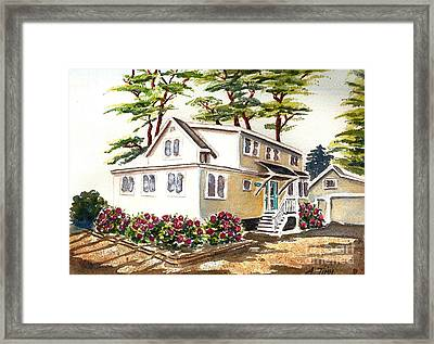 Summer Place Framed Print by Andrea Timm