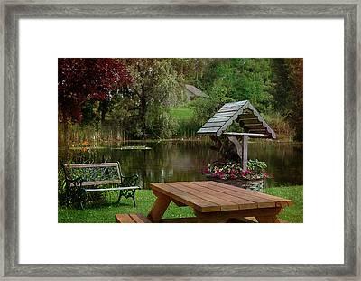 Summer Pleasures Framed Print