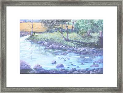 Summer River Framed Print by Reggie Jaggers