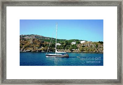 Summer Sailing Framed Print by Therese Alcorn