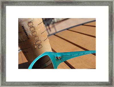 Summer Scenes Framed Print by Hope Williamson