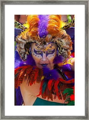 Summer Solstice Parade Santa Barbara 2011. Framed Print