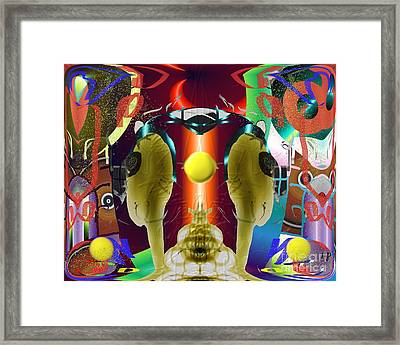 Summer Spectacle Framed Print