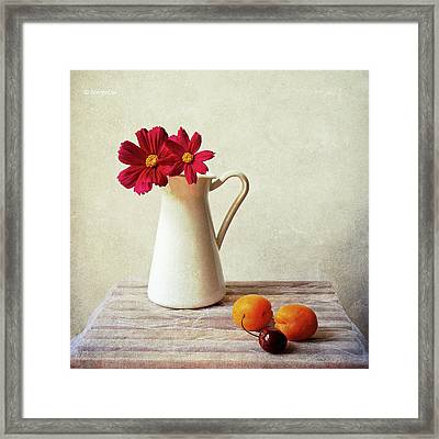 Summer Still Life Framed Print by by MargoLuc
