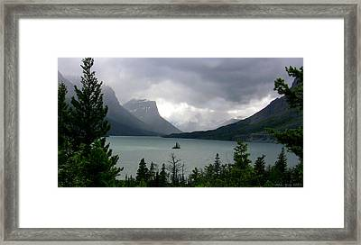 Summer Storm Over Wild Goose Island Framed Print by Lani PVG   Richmond