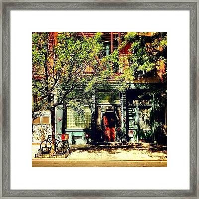 Summer Sun - New York City Framed Print