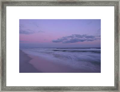 Framed Print featuring the photograph Summer Sunset by Renee Hardison