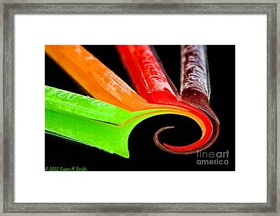 Summer Swirl Framed Print