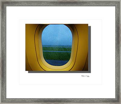 Summer Taxiing Framed Print by Xoanxo Cespon