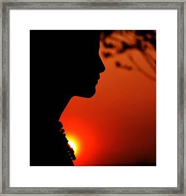 Summerbreeze Framed Print by Claudia Boeckelmann