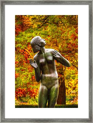 Framed Print featuring the photograph Summers End by Charles Dana