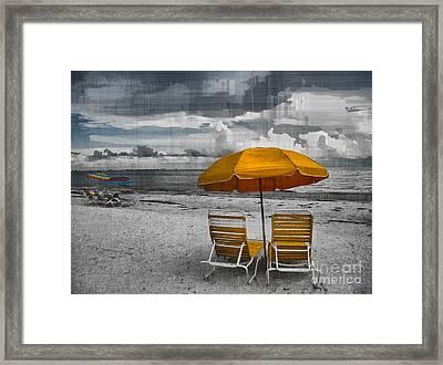 Summer's End Framed Print