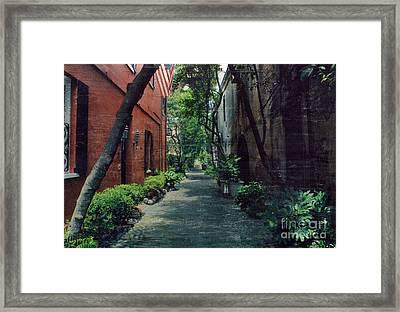 Summertime Ally Framed Print