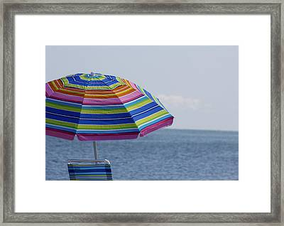Summertime Framed Print by Amy Holmes
