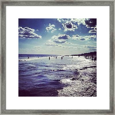 Summertime Framed Print
