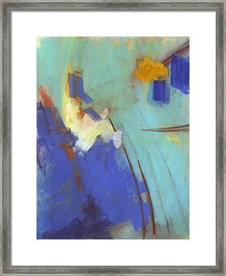 Summit Framed Print by Ethel Vrana