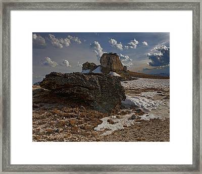 Summit Near Rock Cut Page 1 Of 6 Framed Print by Gregory Scott